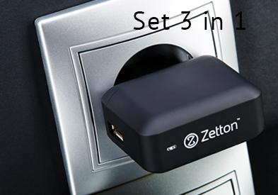 Set 3 in 1 Zetton Slider 4 En Collection