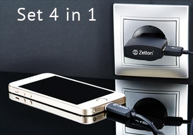 Set 4 in 1 Zetton Slider 4 En Collection