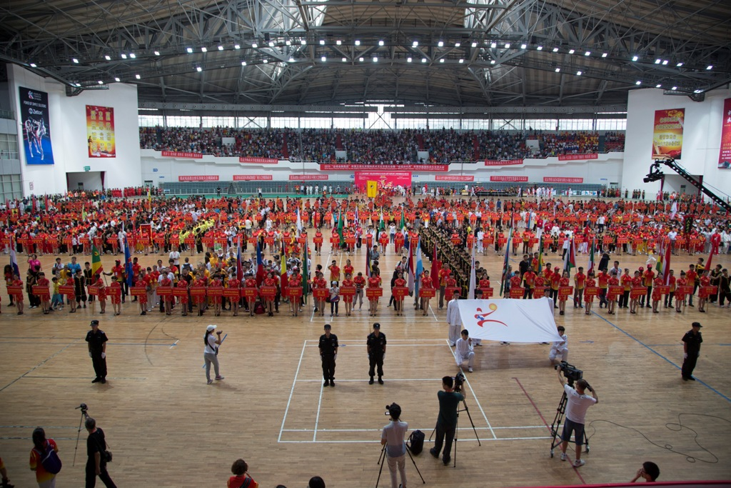 Panoramic Kung Fu World Championship in Beijing 2015